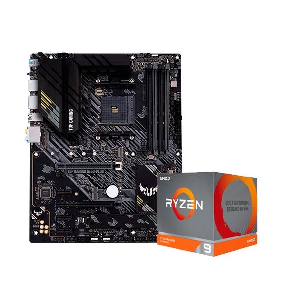 TUF GAMING B550MPLUS  3900XT  Pack PB y CPU