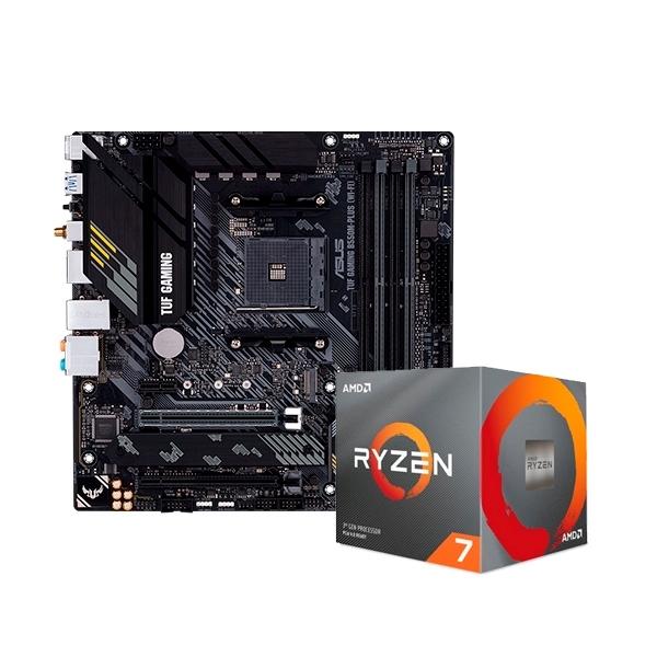 TUF GAMING B550MPLUS WiFi  3700X   Pack PB y CPU