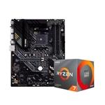 TUF GAMING B550M-PLUS + 3700X  - Pack PB y CPU