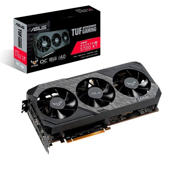 Asus TUF Gaming X3 Radeon RX 5700 XT OC 8GB  Gráfica
