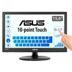 Asus VT168H 156 HD LED multitactil HDMI VGA DVI  Monitor