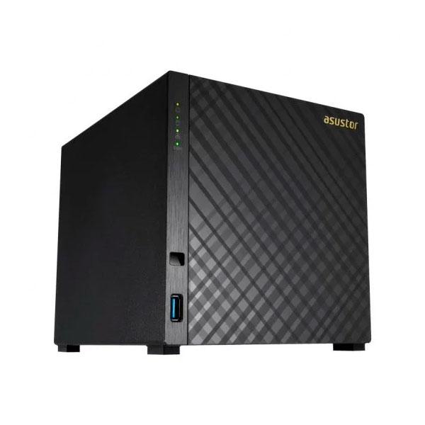 Asustor AS1004T v2 4 Bahías 2Core 16GHz 512MB DDR3  NAS