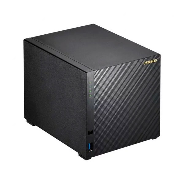 Asustor AS3204T v2 4 Bahas 4Core 224GHz 2GB DDR3L  NAS