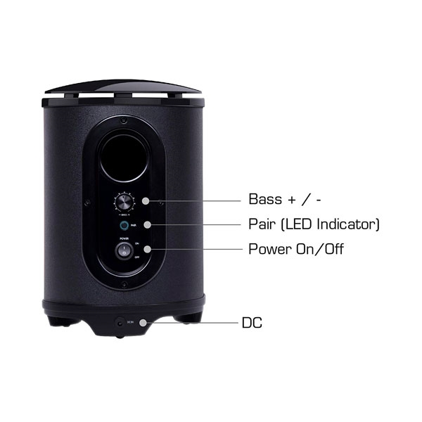Avermedia SonicBlast GS335 Gaming 70W BT - Subwoofer
