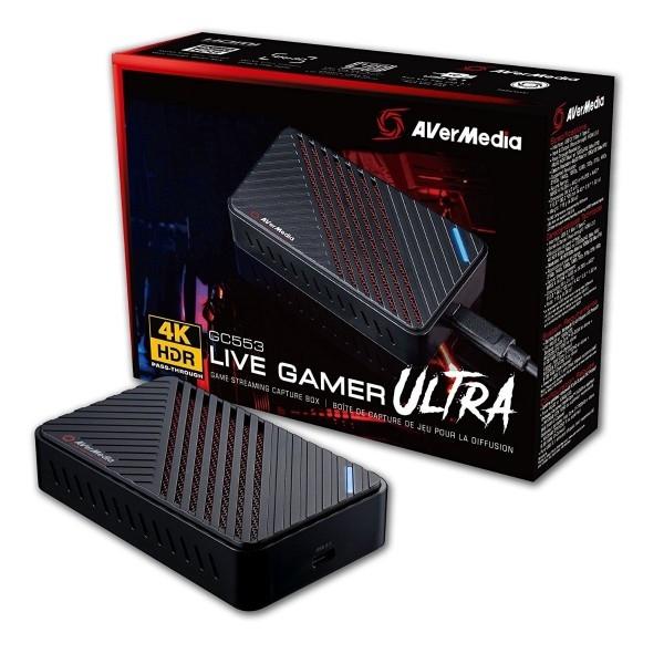 Avermedia Live Gamer Ultra 4K  Capturadora  Reacondicionado