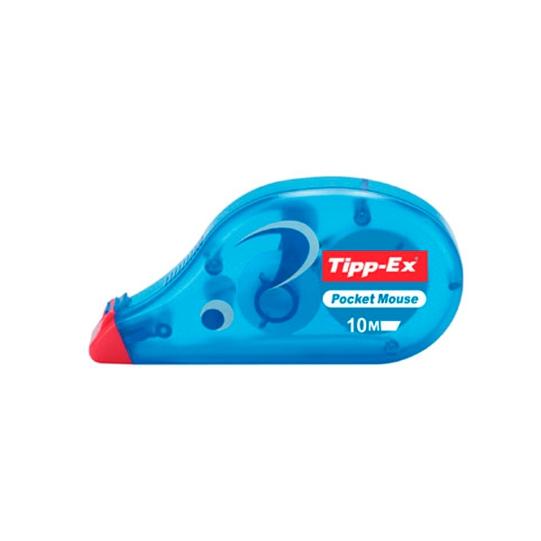 Tipp-Ex Corrector Cinta Pocket Mouse 10 mts