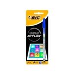 Bic Cristal Stylus Azul con puntero para tablet  Bolígrafo