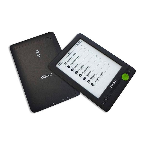 """Billow E03FL 6"""" 4GB Luz Negro - Libro Electrónico"""