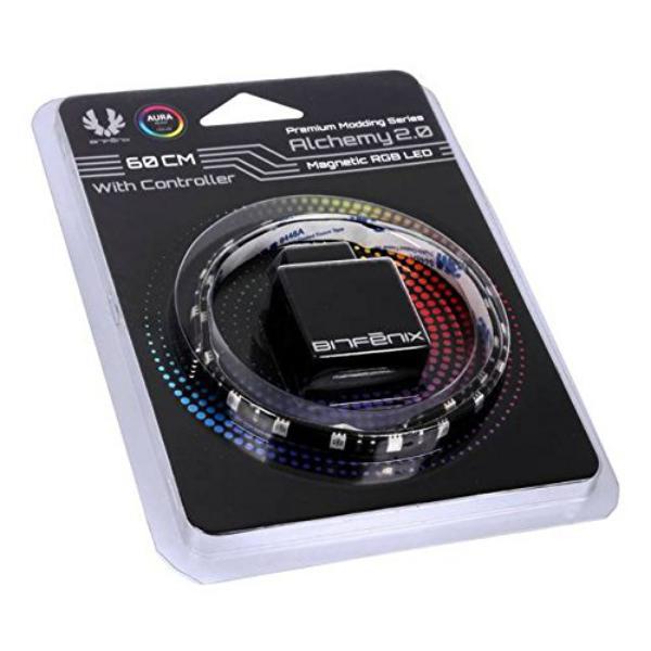 BitFenix Alchemy 20 RGB 60cm  Tira LED  Controlador