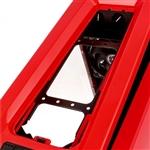 Bitfenix Aegis MicroATX roja con visor - Caja