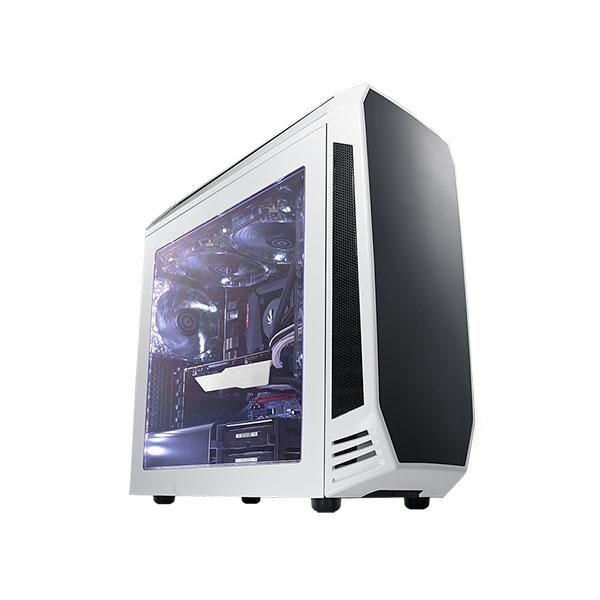 Bitfenix Aegis MicroATX blanco con visor  Caja