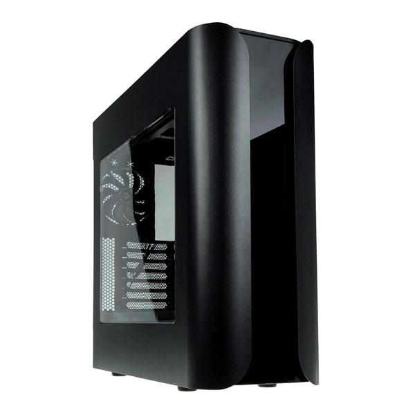 BitFenix Pandora ATX Core negra con ventana - Caja