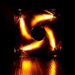 Bitfenix spectre 12cm LED naranja  Ventilador