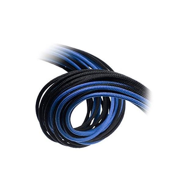 Bitfenix KIT Alchemy 6+2P/8P/24P negro - azul - Cable moding