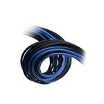 Bitfenix KIT Alchemy 62P8P24P negro  azul  Cable moding