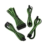 Bitfenix KIT Alchemy 62P8P24P verde negro  Cable moding