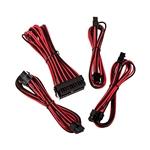 Bitfenix KIT Alchemy 6+2P/8P/24P rojo / negro - Cable moding