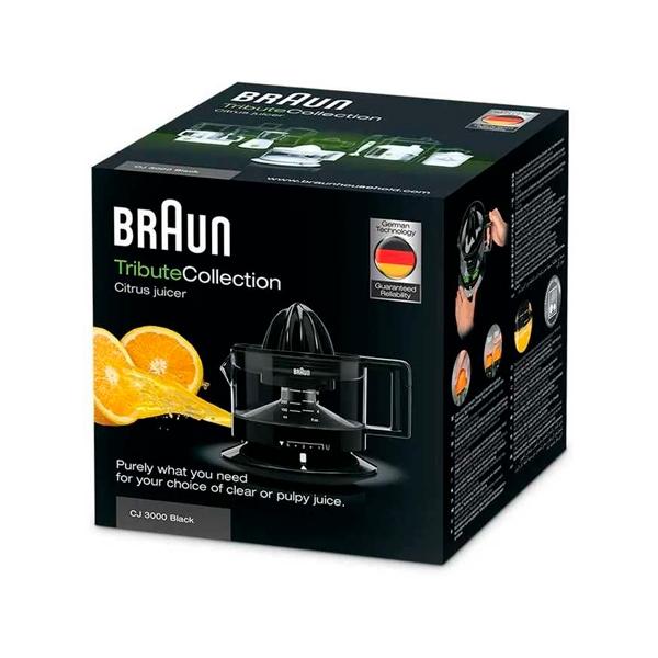 Braun CJ 3000 20W Negro  Exprimidor