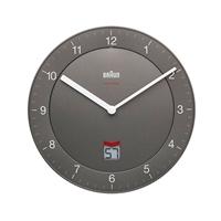 Braun BNC 006 reloj de pared gris