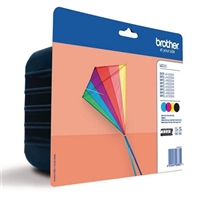 Brother LC223 pack 4 cartuchos 550 pag – Tinta