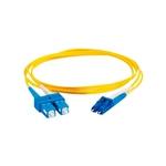 C2G Fibra Óptica monomodo OS1 Dúplex LC-SC 2m - Cable