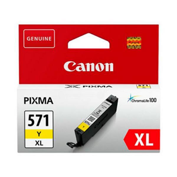 Canon CLI-571Y XL Amarillo MG5751 MG6851 MG7750 - Tinta