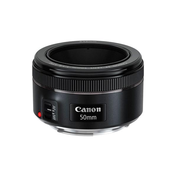 Canon EF 50mm f18 STM  Objetivo
