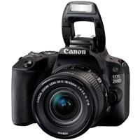 Canon EOS 200D + EF-S IS STM 18 – 55 mm – Cámara Réflex