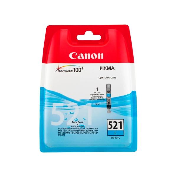 Canon CLI521C Cian  Tinta