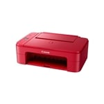 Canon PIXMA TS3352 Wifi Roja - Impresora Multifunción