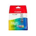 Canon CLI526 CMY Multi pack  Cartucho de tinta y tóner