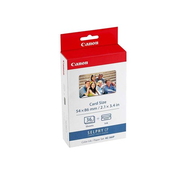 Canon papel/tinta tamaño tarjeta crédito 36und - Consumible