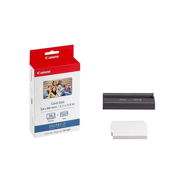 Canon papeltinta tamao tarjeta crdito 36und  Consumible