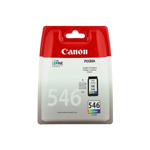 Canon CL546 color 9ml  Tinta  Reacondicionado