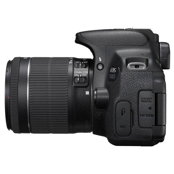 Canon EOS 700D + EF-S IS STM 18 – 55 mm – Cámara Réflex