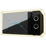 Cecotec ProClean 3140 Mirror Negro 700W 20L con Grill  Microondas