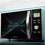 Cecotec ProClean 8110 Full Inox 1000W 28L con Grill  Microondas