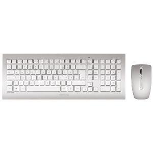 Cherry DW 8000 plateado  Kit de teclado y ratón