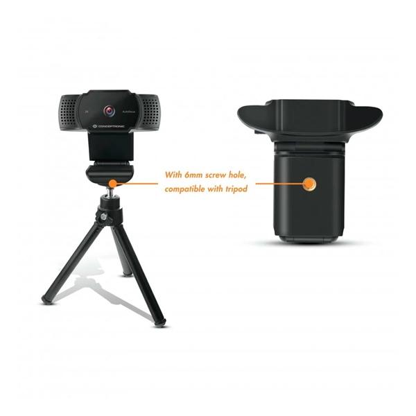 Conceptronic Amdis 2K USB con micrófono  Webcam