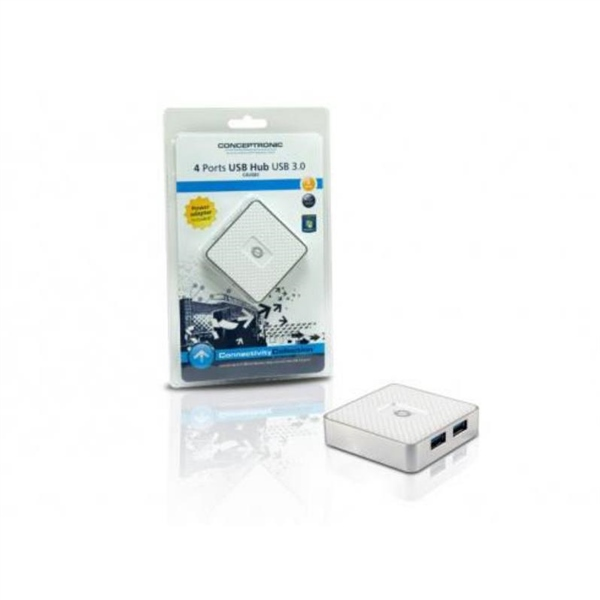 Conceptronic C4USB3 HUB USB 30 4 Puertos  Adaptador USB
