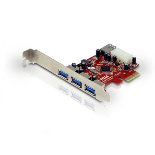 Conceptronic C4USB3EXI 4 x USB3.0 – Adaptadores PCI-E