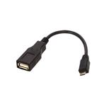Conceptronic OTG Micro USB Macho a USB Hembra – Cable