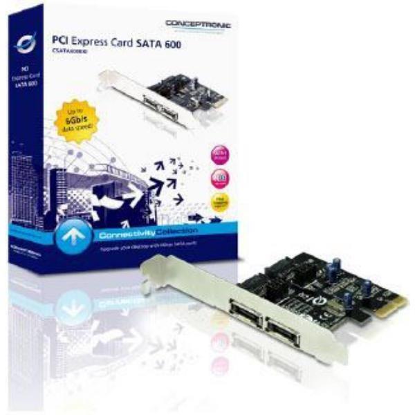 Conceptronic CSATA600EXI Controladora SATA3  Adaptador PCIe