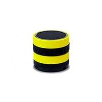 Conceptronic negro amarillo BT micro SD y radio  altavoz