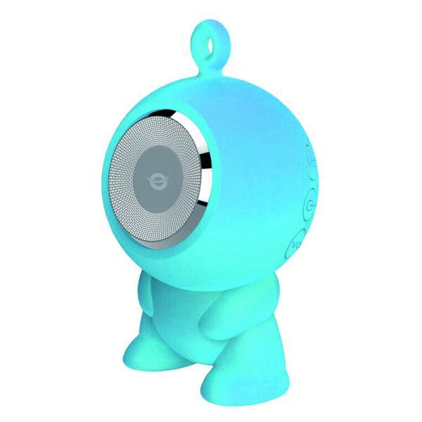 Conceptronic CSPKBTWPHFB azul  BT micro SD – altavoz