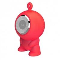 Conceptronic CSPKBTWPHFR rojo  BT micro SD – altavoz