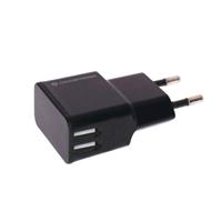 Conceptronic 2 USB negro  Cargador de pared stand