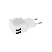 Conceptronic 2 USB blanco  Cargador de pared stand