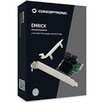 Conceptronic PCIEXPRESS 4xSata  Controladora