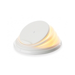 Conceptronic Gorgon Cargador inalámbrico Led Qi 10w White